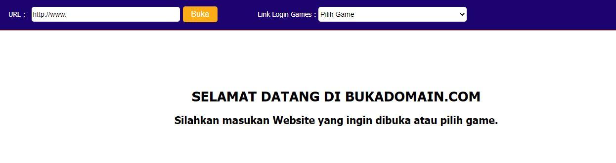 Buka Domain