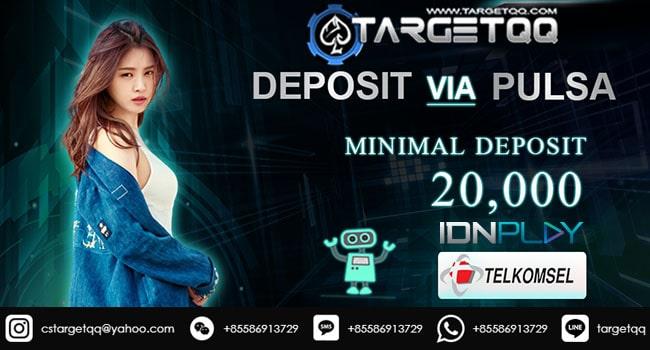 Deposit Poker Indo Pulsa Tanpa Potongan